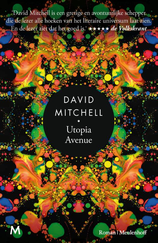 david mitchel utopia avenue cover